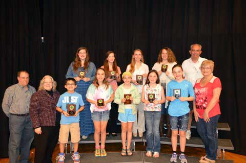 Sevier County 4-H Baking Winners