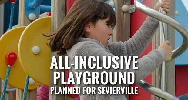 City of Sevierville Department of Parks and Recreation announces the design unveiling for the new inclusive playground