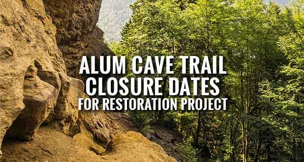Alum Cave Trail Restoration Project Begins