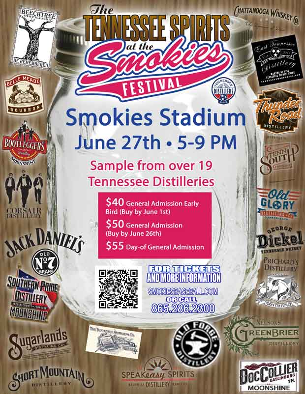 Tennessee Distilleries at Tennessee Spirits at the Smokies Festival