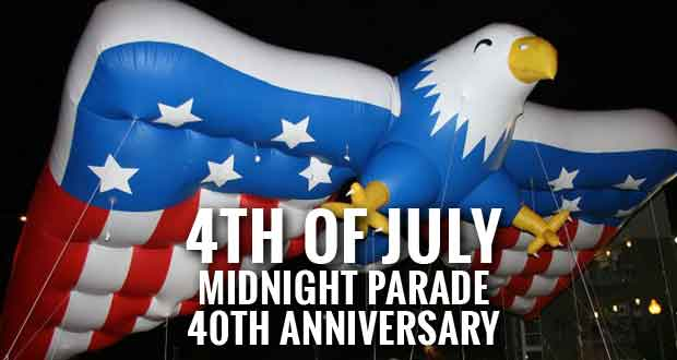 Gatlinburg 4th of July Midnight Parade Celebrates 40th Anniversary