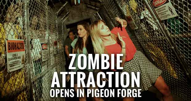 """Outbreak"" Zombie Attraction Opens at Hollywood Wax Museum Entertainment Center in Pigeon Forge"
