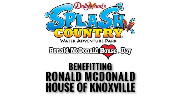 Dollywood's Splash Country Supports Ronald McDonald House of Knoxville