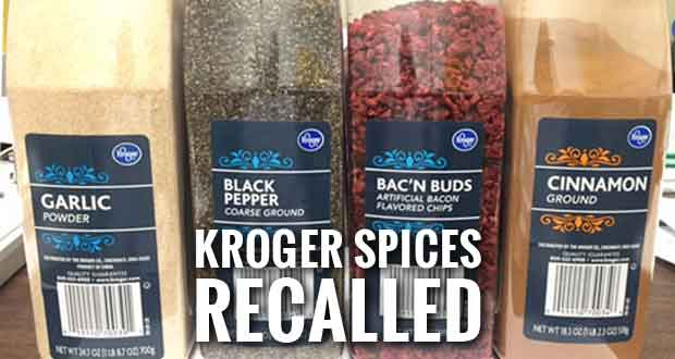 Kroger Spices Recalled Due to Salmonella Risk