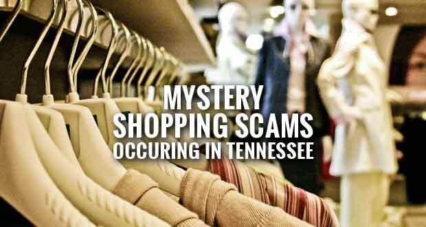 Tennessee Issues Mystery Shopping Scam Warning