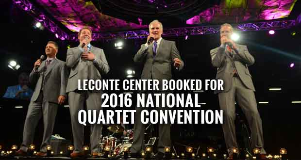 National Quartet Convention Returning to Pigeon Forge in 2016