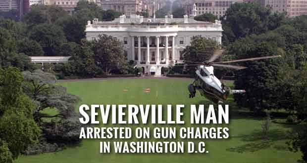 Sevierville Man with Guns Arrested After Asking Cop for Directions to White House