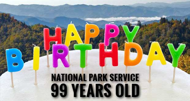 Smokies Celebrates National Park Service 99th Birthday at Park Headquarters
