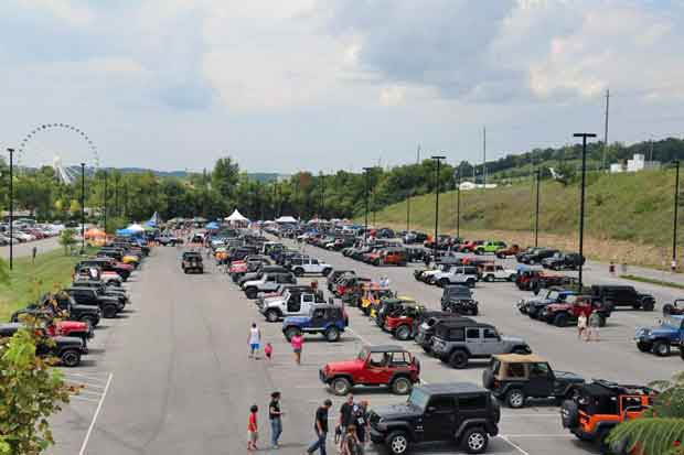 Great Smoky Mountain Jeep Invasion