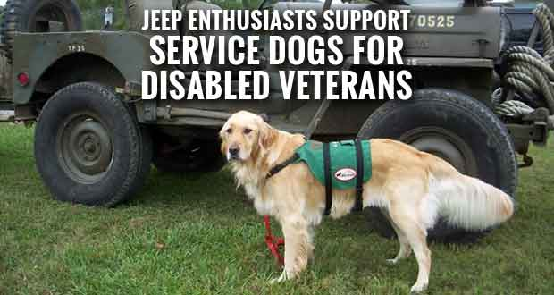 Great Smoky Mountain Jeep Invasion Raffle to Fund Service Dogs for Disabled Veterans