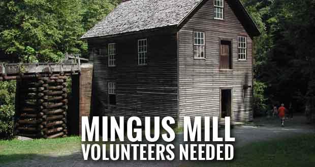 Great Smoky Mountains National Park Volunteers Needed at Mingus Mill