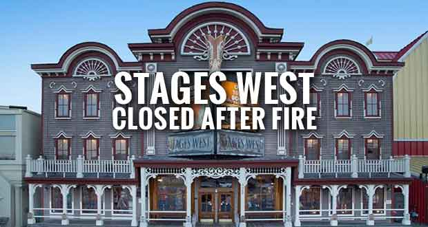 Stages West in Pigeon Forge Closed after Early Morning Fire