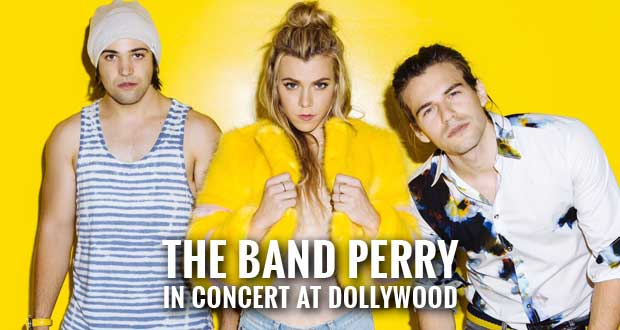 The Band Perry added to Dollywood's Showcase of Stars