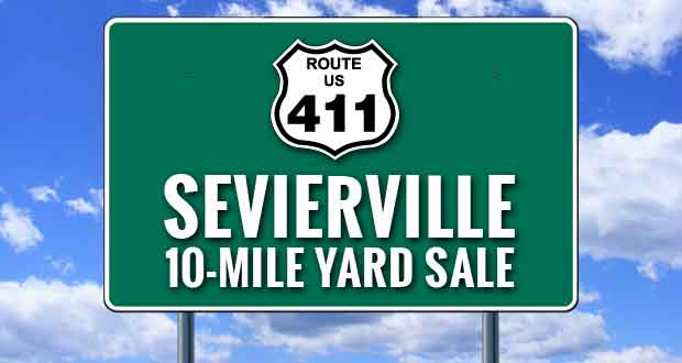 Almost Time for the Fall 10-Mile Yard Sale in Sevierville