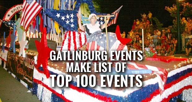 American Bus Association names Gatlinburg Events toTop 100 Events for 2016