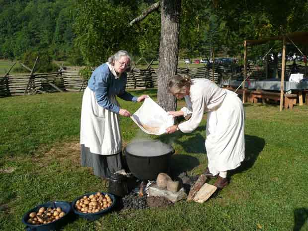 Historic Demonstrations at the Mountain Life Festival in Great Smoky Mountains National Park