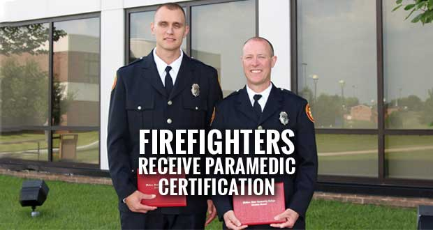 Sevierville Firefighters Attain Paramedic Certification from Walters State