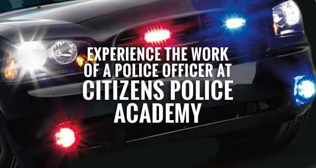 Citizens can experience what it is like to be a police officer in Sevierville by attending a free Citizens Police Academy.