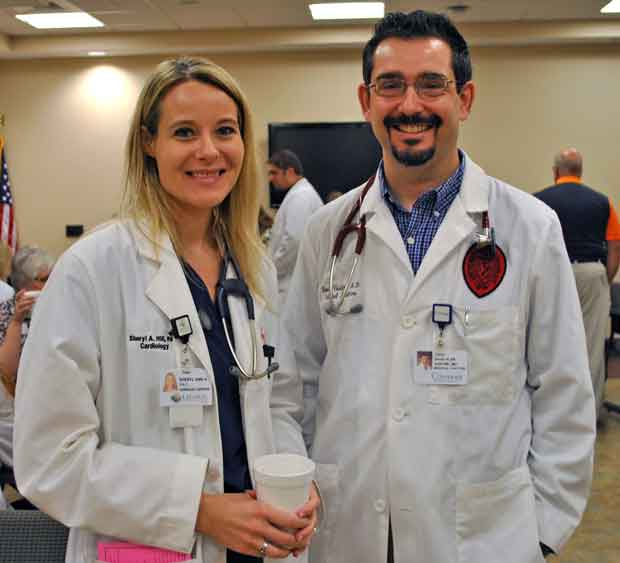 Sheryl Hill, PA-C and David Vastine, MD