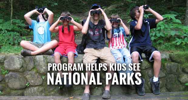 Smokies Welcomes 4th Grade Students with Every Kid in a Park Initiative