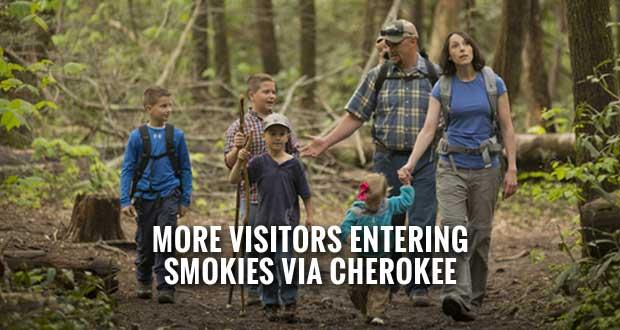 Smokies Summer Visitation Level with 2014