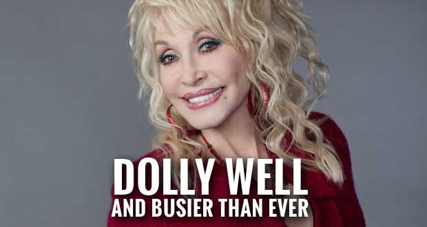 "Dolly Denies Stomach Cancer Rumors, says She is ""Just Fine"" and Back to Work"