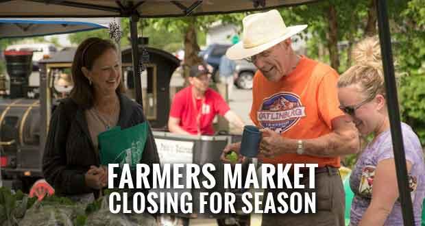 Last Market of the Season for Gatlinburg Farmers Market