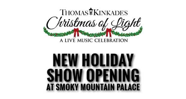 Experience Art Come to Life in Thomas Kinkade's Christmas of Light