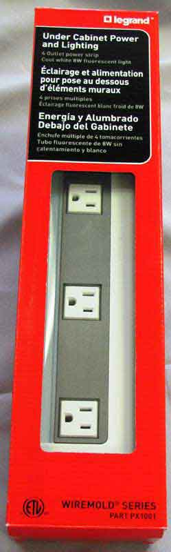 Legrand Under-Cabinet Power Strips