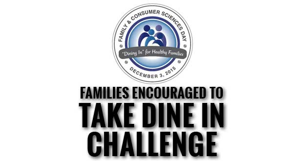 UT Extension Sevier County Says Dine In for Healthy Families