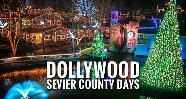 Sevier County Days at Dollywood Smoky Mountain Christmas