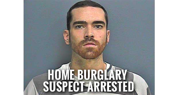 Sevierville Man Arrested for String of Sevier County Home Burglaries