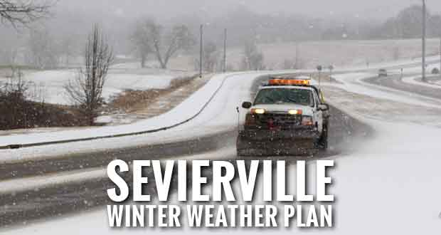 Sevierville Says It is Ready for Winter Weather