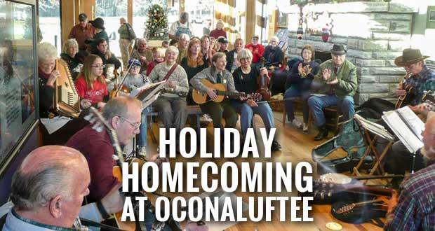 Smokies Hosts Holiday Homecoming at Oconaluftee Visitor Center