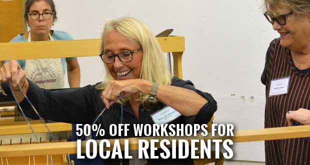 Arrowmont Workshops Discounted for Sevier, Blount, Cocke, Jefferson and Knox Residents