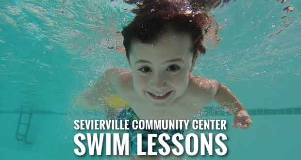 Children's Swim Lessons Offered at Sevierville Community Center