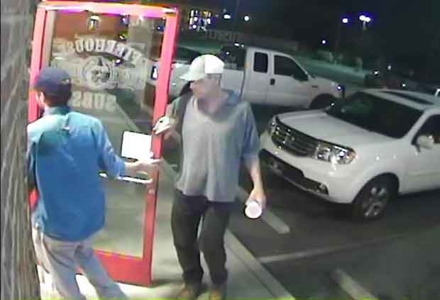 Suspects Wanted in Hotel Room Burglary