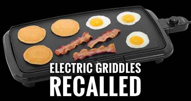 Walmart Recalling 330,000 Rival Griddles