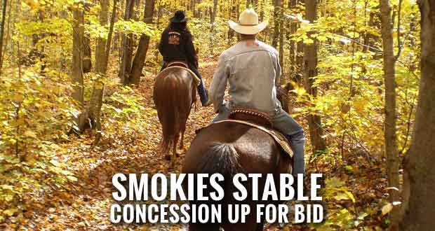 Park Service Seeks Proposals to Operate Smokemont Riding Stables