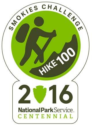 Smokies Centennial Challenge - Hike 100 Pin