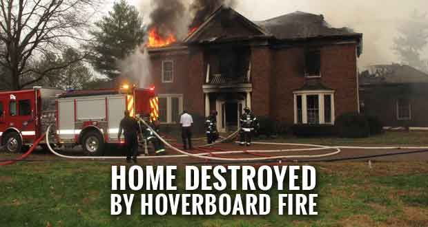 Hoverboard Fire Destroys Nashville Home