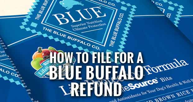 Users of Blue Buffalo Pet Food or Treats may Get Refund
