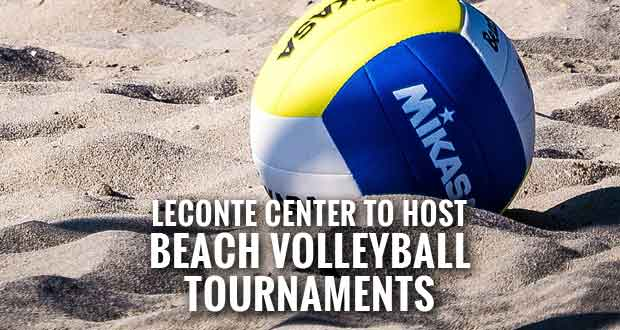 Beach Volleyball Tournaments Coming to LeConte Center at Pigeon Forge