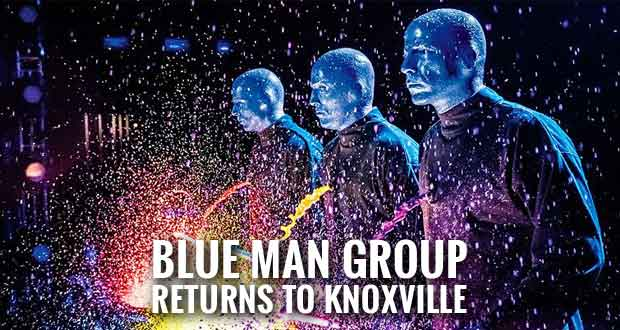 Blue Man Group Playing Historic Tennessee Theatre