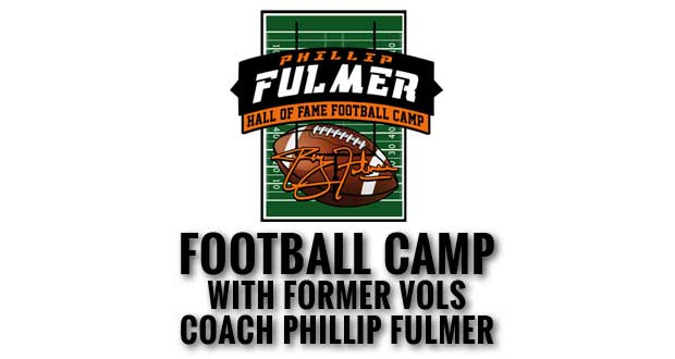 Rocky Top Sports World hosting Phillip Fulmer Hall of Fame Football Camp
