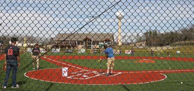 Pigeon Forge High School Baseball Team at Ripken