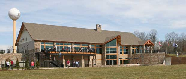 The Ripken Experience Pigeon Forge clubhouse.
