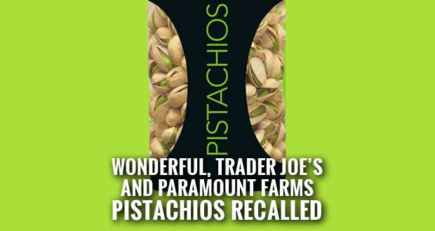 Wonderful Pistachios Recalled, Linked to Salmonella Outbreak