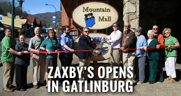Grand Opening of Zaxby's in Gatlinburg's Mountain Mall
