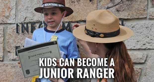 Park Plans Kids Activities for National Junior Ranger Day